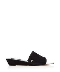 Ani black slippers