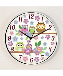 WC2081 - Curious Owls Children Clock