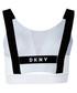 Impact white sports bra Sale - dkny Sale
