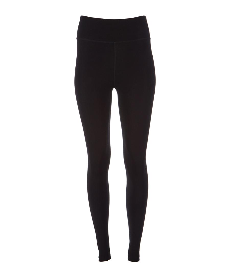 Black high waist logo leggings Sale - dkny