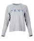 Grey logo pullover sweatshirt Sale - dkny Sale
