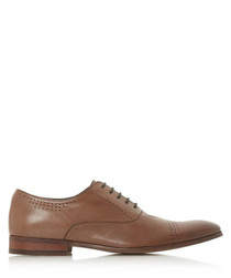 Pickford tan leather brogues