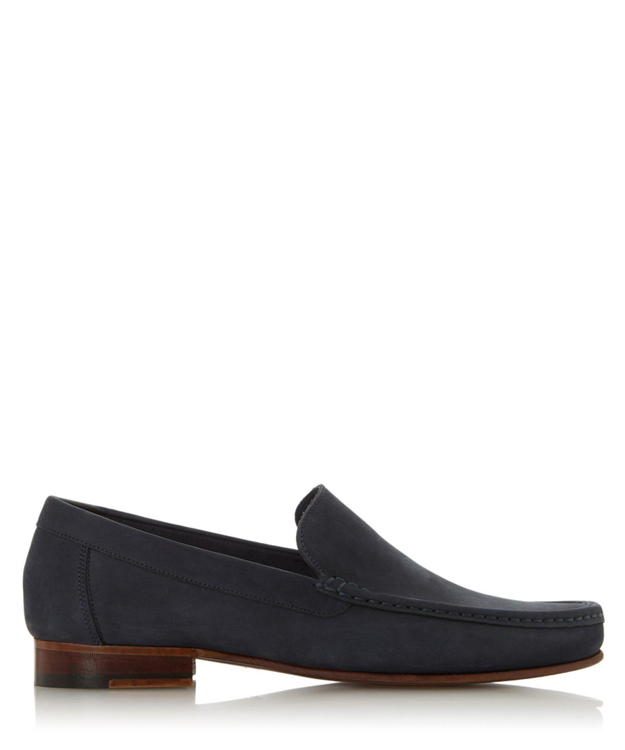 Sloane Square navy nubuck loafers Sale - dune