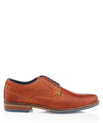 Bennett tan leather brogues
