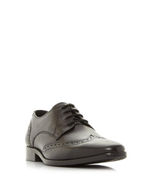 Phils black leather brogues