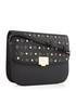 Black embellished fold-over crossbody Sale - dune Sale