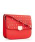 Red embellished fold-over crossbody Sale - dune Sale