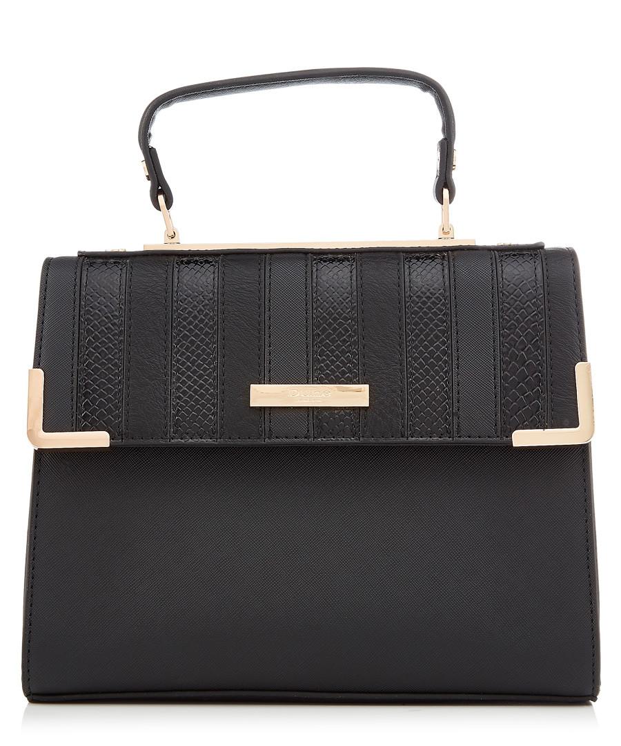 Black stripe shoulder bag Sale - dune
