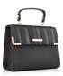 Black stripe shoulder bag Sale - dune Sale