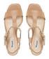 Isadora tan leather stud sandals Sale - dune Sale
