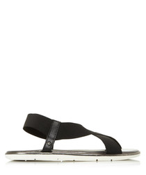 Linke black sandals