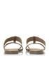 Llora grey double strap sandals Sale - dune Sale