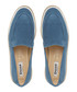 Genie navy suede loafers Sale - dune Sale