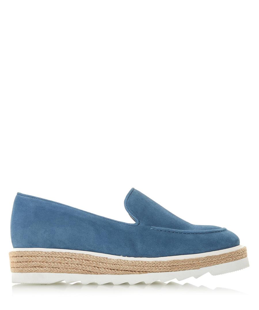Genie navy suede loafers Sale - dune
