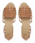 Gili tan leather gladiator sandals Sale - dune Sale