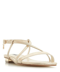 Nenna nude strappy sandals