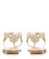 Neverland rose gold-tone sandals Sale - dune Sale