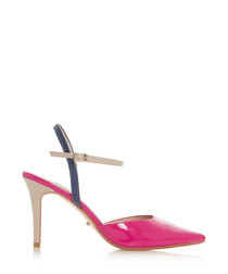 Christy multi-colour pointed heels