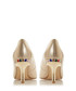 Bellows gold-tone leather heels Sale - dune Sale