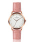 rose gold-tone & pink leather watch Sale - frederic graff Sale