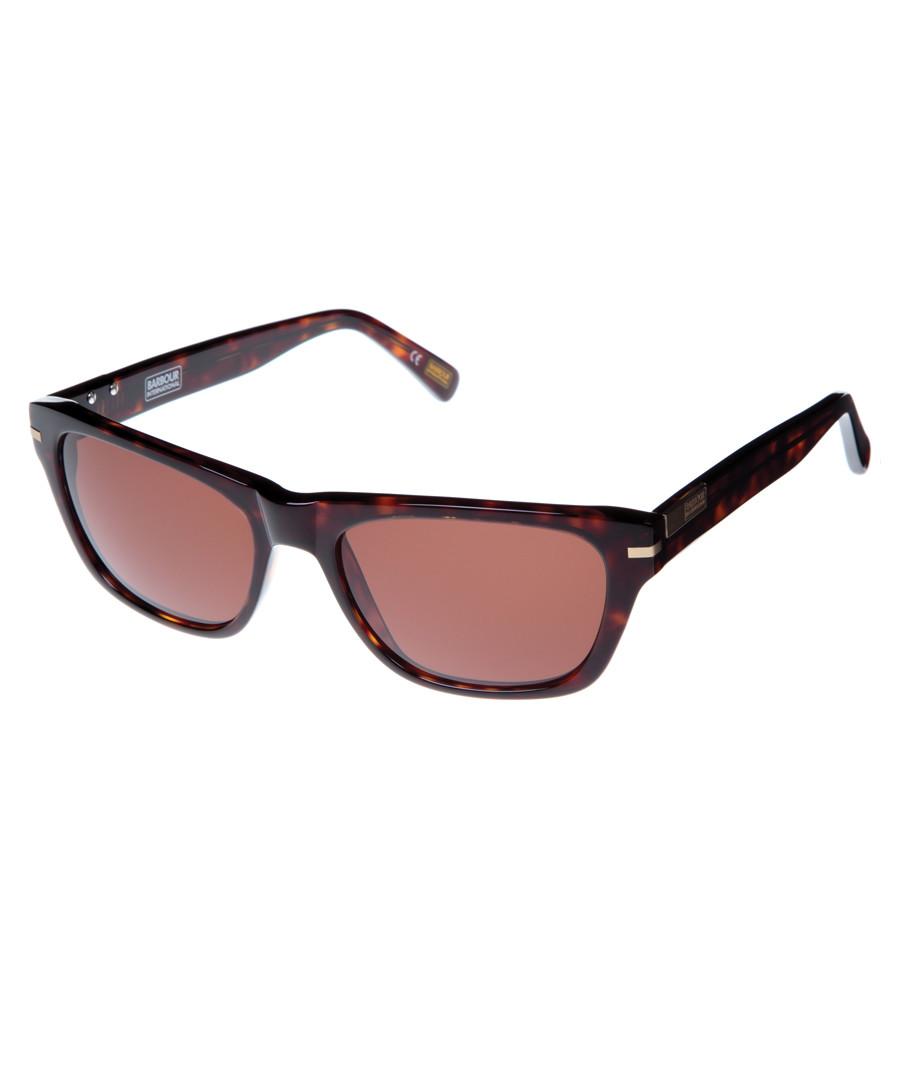 Havana D-frame sunglasses Sale - barbour