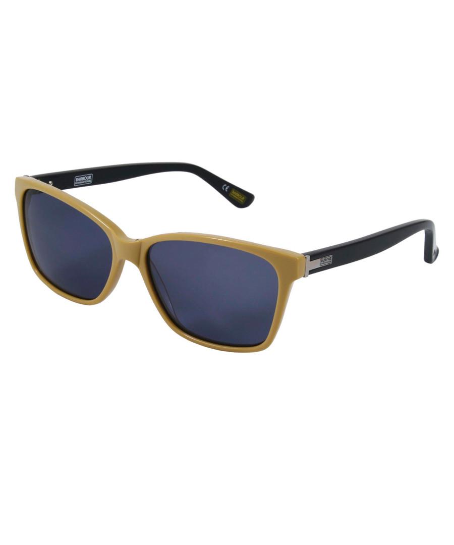 mustard blue D-frame sunglasses Sale - barbour
