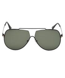 Chase-02 black & green sunglasses
