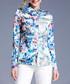 blue floral collared blouse Sale - Kaimilan Sale