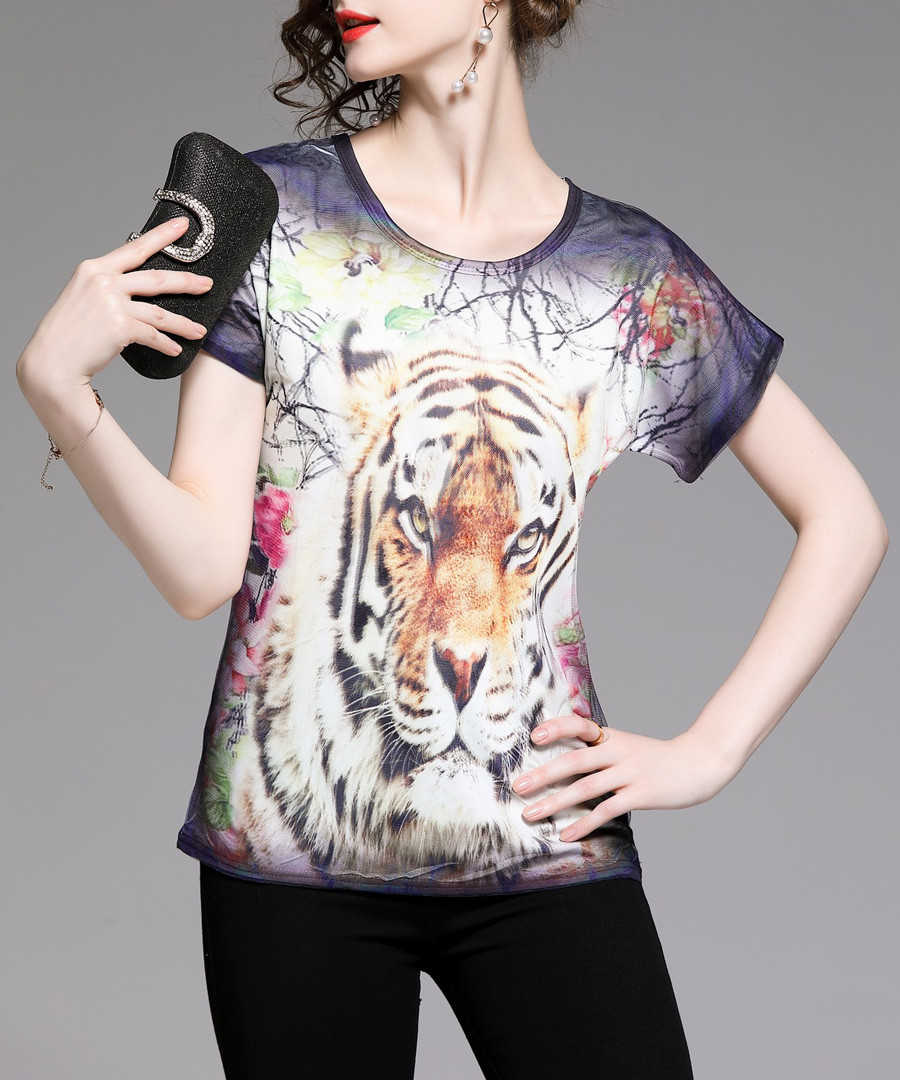 tiger scene T-shirt Sale - Kaimilan