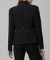 Tailored Jacket Sculpted Tailoring Black Sale - Amanda Wakeley Sale