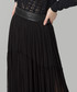 Black pure silk tulle maxi skirt Sale - Amanda Wakeley Sale