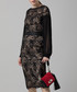 Black paisley lace midi dress Sale - amanda wakeley Sale