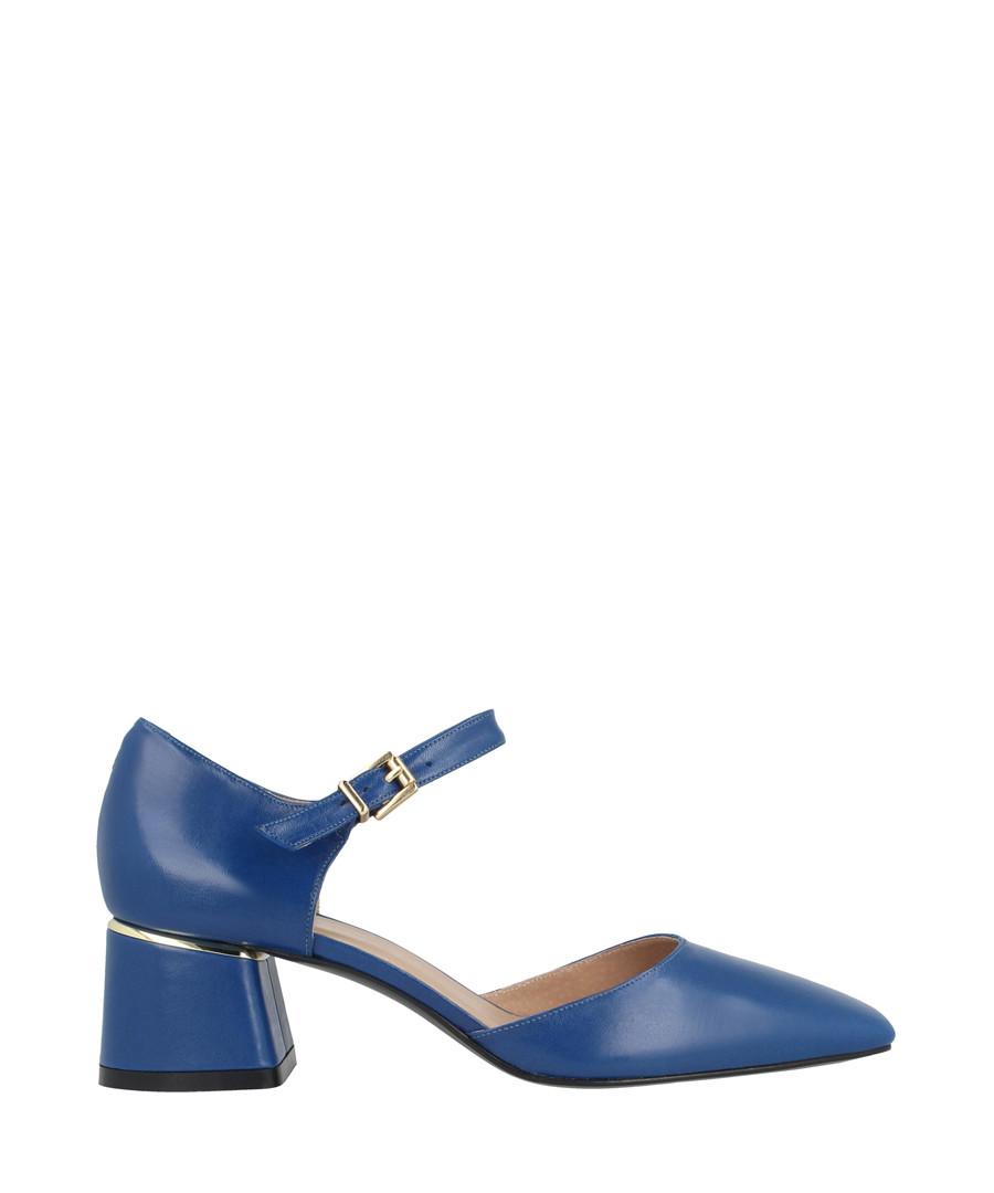 Azul leather block heels Sale - roberto botella