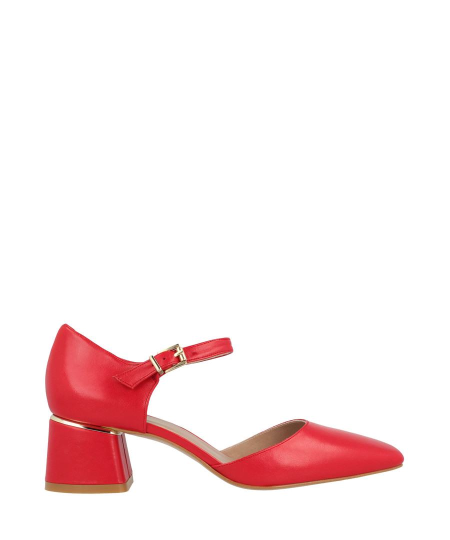 Rojo leather block heels Sale - roberto botella