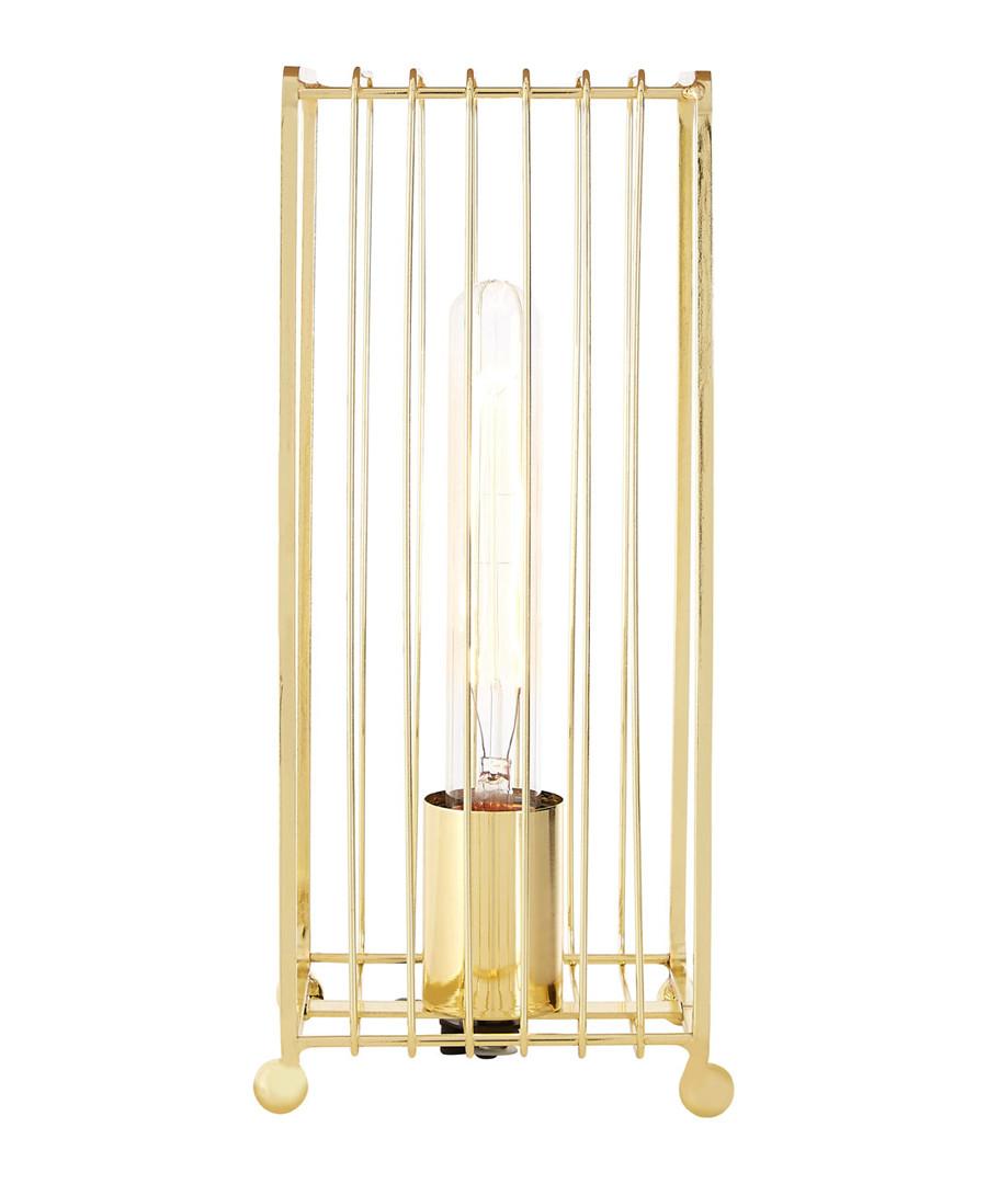 Deco gold-tone metal table lamp Sale - premier
