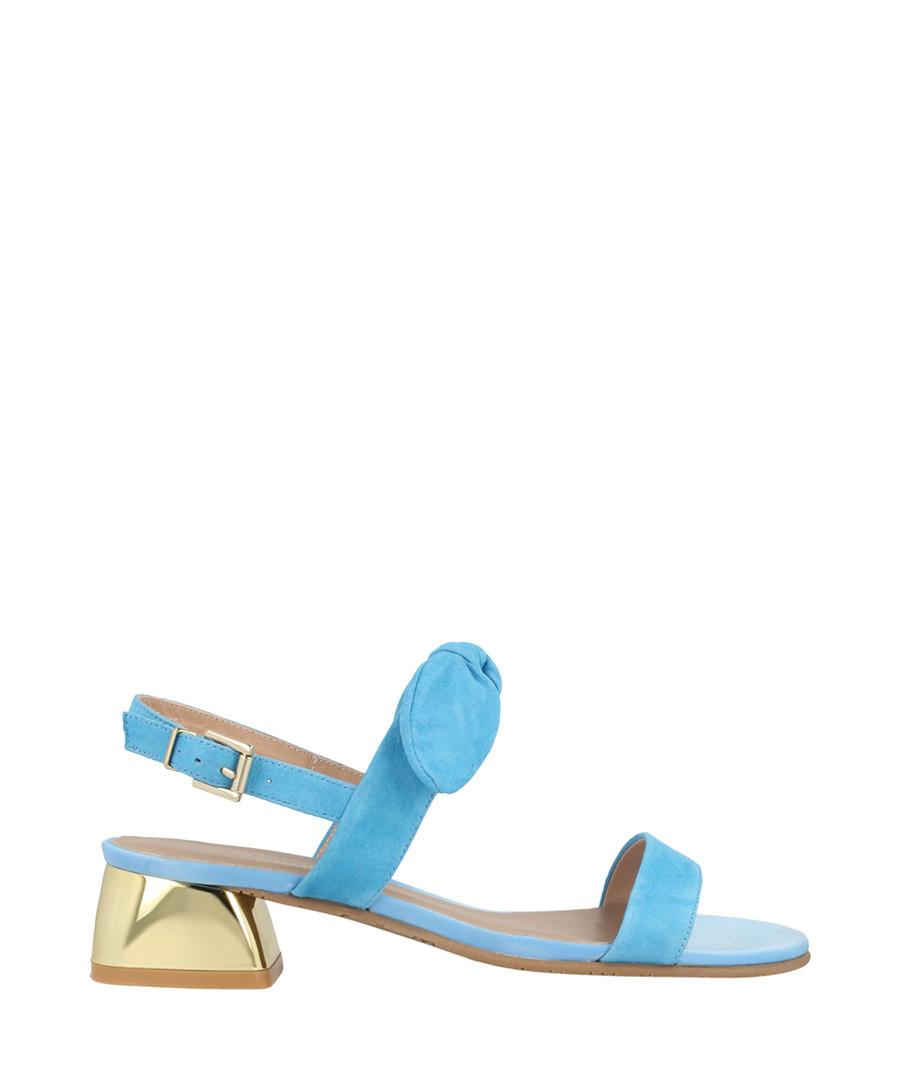 Blue suede knot sandals Sale - roberto botella