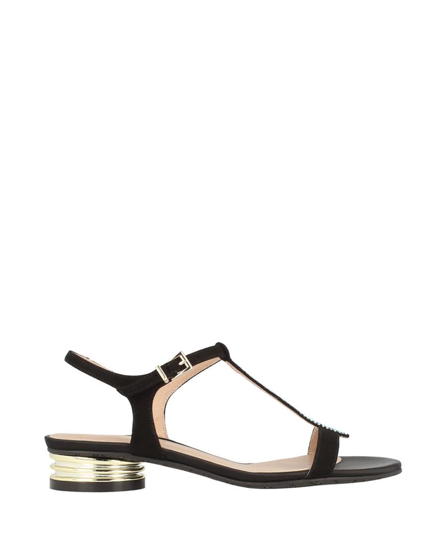 Black embellished sandals Sale - roberto botella