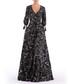 black floral V-neck maxi dress Sale - Isabel Garcia Sale