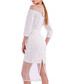 white lace scalloped dress Sale - Isabel Garcia Sale