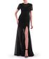 black cotton blend split maxi dress Sale - Isabel Garcia Sale
