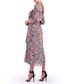 mauve floral midi dress Sale - Isabel Garcia Sale
