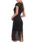 black mesh hem midi dress Sale - Isabel Garcia Sale