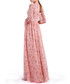 pink V-neck pleated maxi dress Sale - Isabel Garcia Sale
