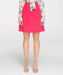 fuchsia mini skirt