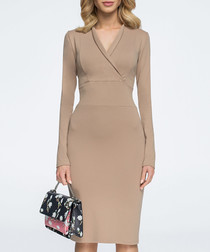 biscuit wrap dress