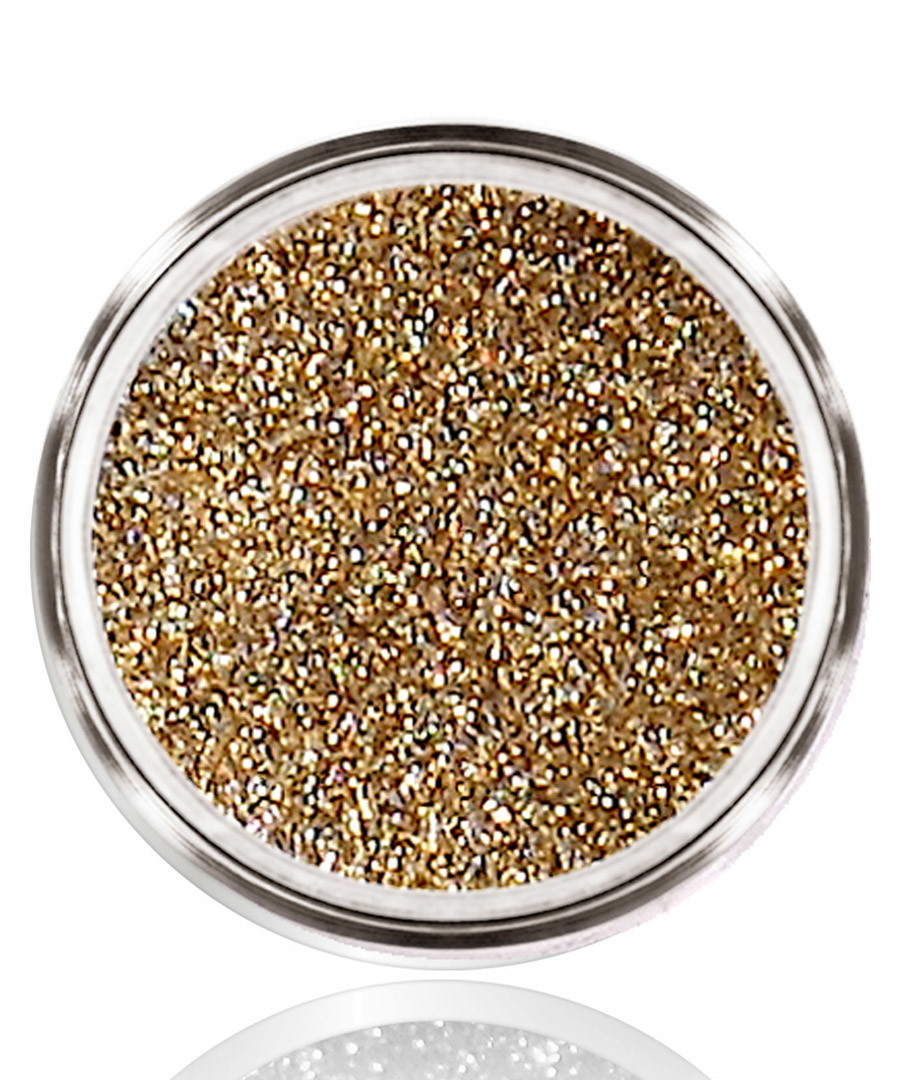 gold-tone ultra-fine body glitter Sale - bellapierre