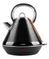 linear black rapid-boil kettle 1.8L Sale - tower Sale