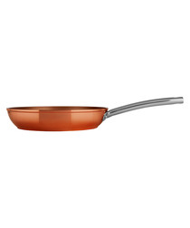 copper-tone frying pan 28cm