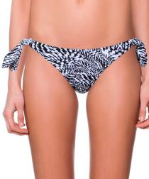 gabrielle zebra bikini briefs