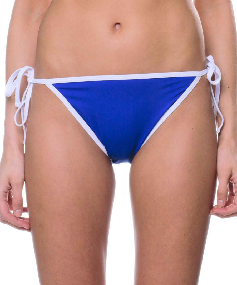 gracia blue bikini briefs Sale - fleur farfala